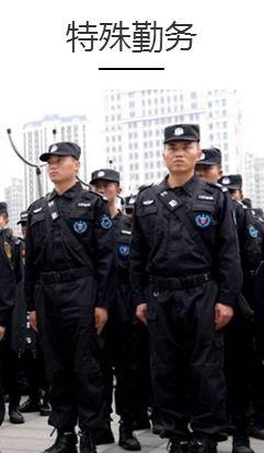 保安看护勤务的基本内容