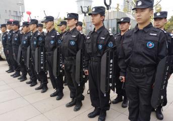 聊城保安人员装备配备的原则