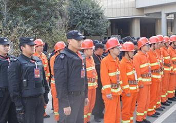 火灾发生时,保安的应急措施很重要