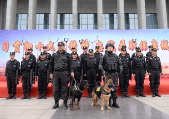 聊城保安给予社区居民的安全感!